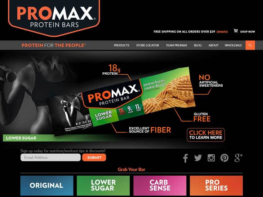 Screenshot: Promax
